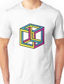 Cube Illusion Unisex T-Shirt