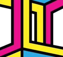 Cube Illusion Sticker
