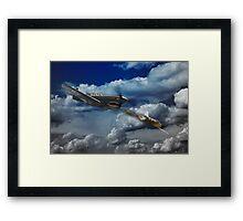 Pacific Battle Framed Print