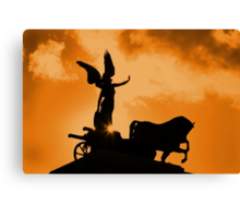 Chariot Of Fire Canvas Print