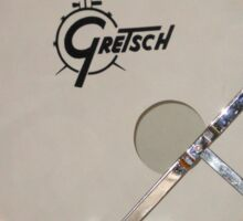 Gretsch Drum Sticker