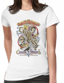 The World Renowned Cabal Bros Carnival of Wonders Womens Fitted T-Shirt