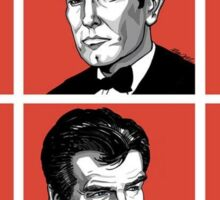 The History Of James Bond Sticker