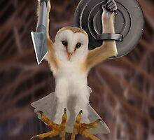Spartan Gibbon Owl by Felfriast
