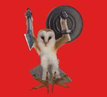Spartan Gibbon Owl One Piece - Short Sleeve