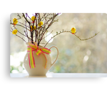 easter tree... Canvas Print