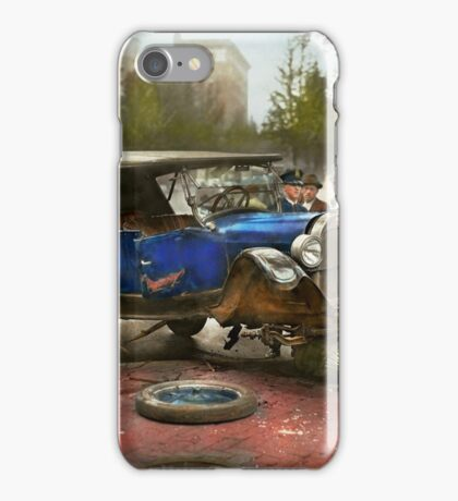 Car Accident - It came out of nowhere 1926 iPhone Case/Skin