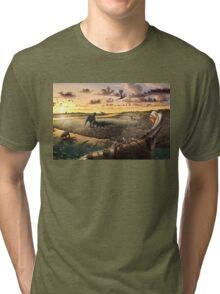 Mill Canyon Dinosaur Tracksite Leggings, Shirts, & more!! Tri-blend T-Shirt