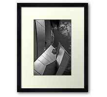 Abstract number 10 black and white Framed Print