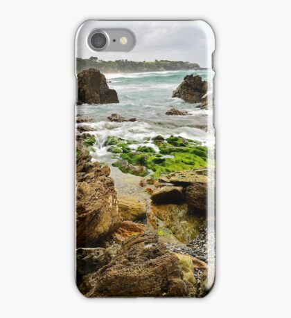 Foam on The Rocks iPhone Case/Skin