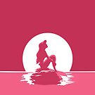 The Little Mermaid Pink by MargaHG