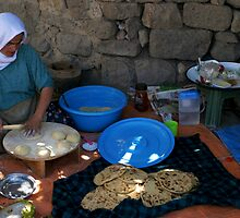 Anatolian Village Bread by Jens Helmstedt