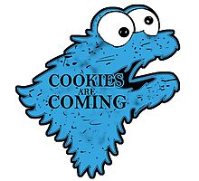 Cookies is Coming Photographic Print