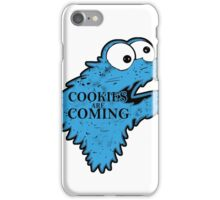 Cookies is Coming iPhone Case/Skin