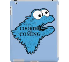 Cookies is Coming iPad Case/Skin