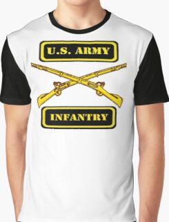 Army Infantry T-Shirt Graphic T-Shirt