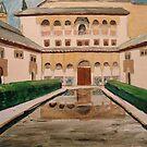 Alhambra, Granada  by Caroline  Hajjar Duggan