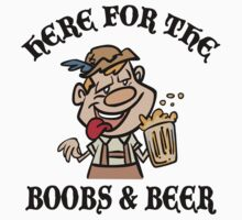 Oktoberfest Here For The Boobs And Beer by HolidayT-Shirts