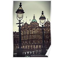 Two lampposts Poster