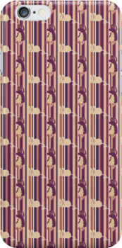 Mouse Stripes Pattern by SaradaBoru