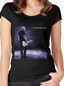 DAVID GILMOUR RATTLE LOCK TOUR 2016 Women's Fitted Scoop T-Shirt