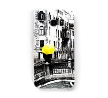 Yellow Umbrella in Venice Samsung Galaxy Case/Skin