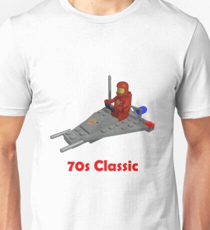 70s Classic Space Lego Unisex T-Shirt