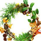 Organic Wreath by Arteffecting