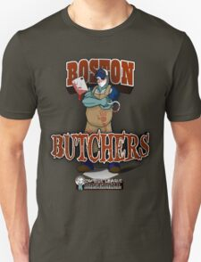 Zombie League Baseball - Boston Butchers T-Shirt