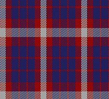 01320 US Coast Guard Military Tartan Fabric Print Iphone Case by Detnecs2013