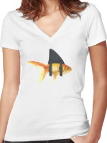BRILLIANT DISGUISE 02 Women's Fitted V-Neck T-Shirt