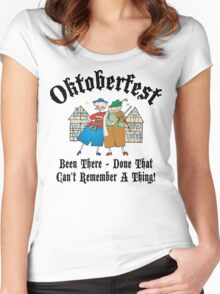 Oktoberfest Been There Done That ... Women's Fitted Scoop T-Shirt