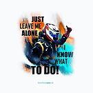 Leave Me Alone I Know What To Do! - iPad Case - Kimi Raikkonen by evenstarsaima