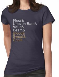 Women's Gymnastics Events Womens Fitted T-Shirt