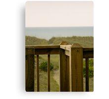 Porch Railing Canvas Print