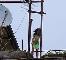 Unusual Antenna by Francis Drake