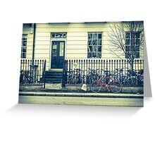Cambridge Bicycles Greeting Card
