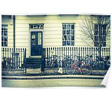 Cambridge Bicycles Poster