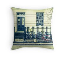 Cambridge Bicycles Throw Pillow