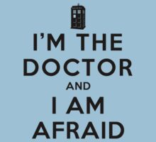I'm the Doctor and I am Afraid (Light Shirts) by oawan