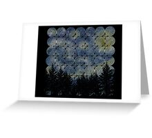 Spiral Forest Greeting Card
