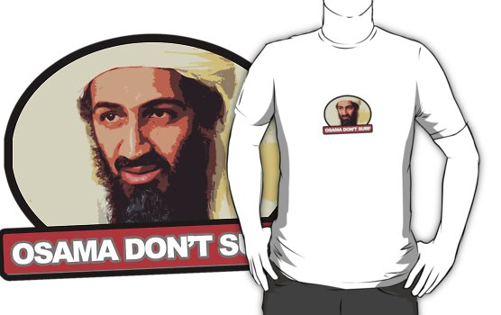 Osama Don't Surf by theninja