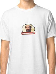 Osama Don't Surf Classic T-Shirt
