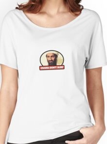 Osama Don't Surf Women's Relaxed Fit T-Shirt