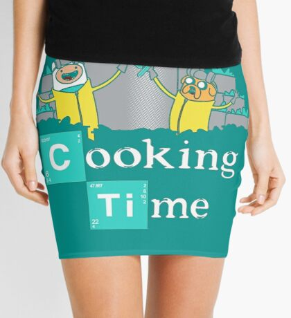 Adventure Time Cooking Time Mini Skirt