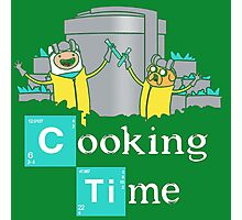 Adventure Time Cooking Time Photographic Print