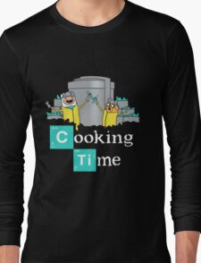 Adventure Time Cooking Time Long Sleeve T-Shirt
