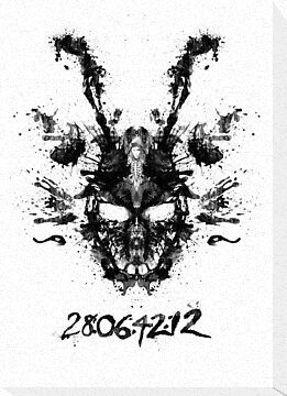 Imaginary Inkblot- Donnie Darko Shirt by spacemonkeydr