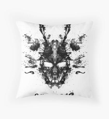 Imaginary Inkblot- Donnie Darko Shirt Throw Pillow