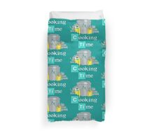 Adventure Time Cooking Time Duvet Cover
